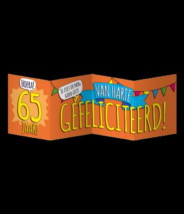 Surprise Card - 65 jaar