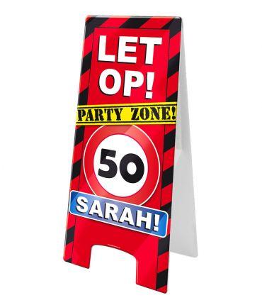 Warning Sign - Sarah