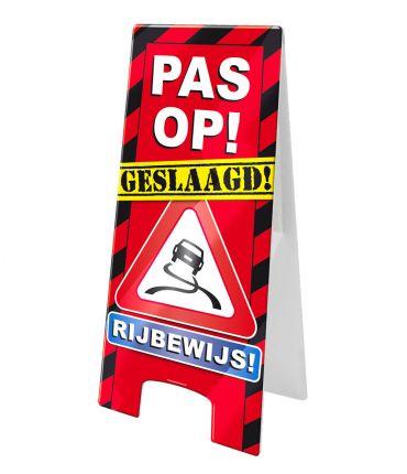 Warning Sign - Rijbewijs