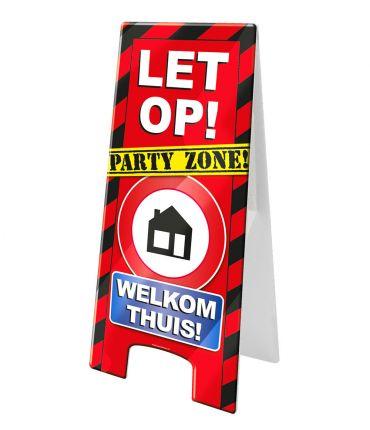 Warning Sign - Welkom thuis