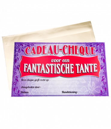 Gift Cheque - Tante