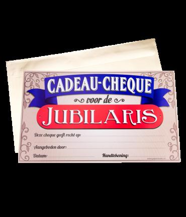 Gift Cheque - Jubilaris
