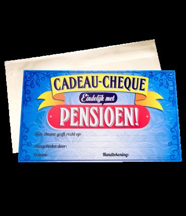 Gift Cheque - Pensioen