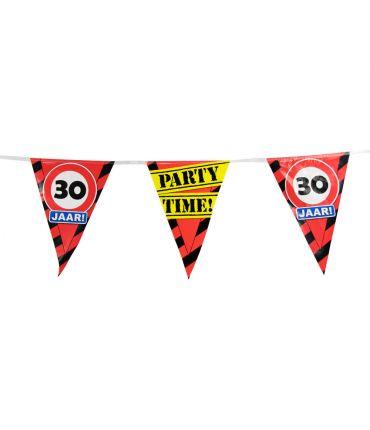 Party Vlaggen - 30 jaar