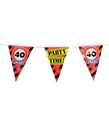 Party Vlaggen - 40 jaar