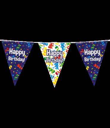 Party vlaggen - Happy birthday