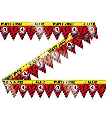 Party Tape - 4 jaar