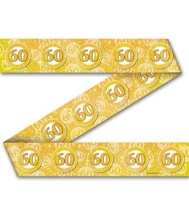 Party Tape - 60 jaar getrouwd