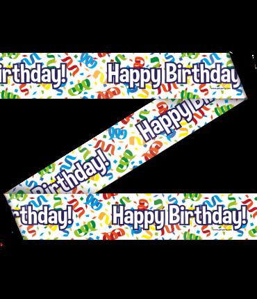 Party Tape - Happy birthday cartoon