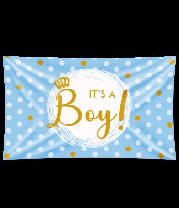 Gevel vlag - It's a boy!