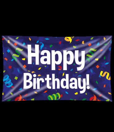 Gevelvlag - Happy birthday