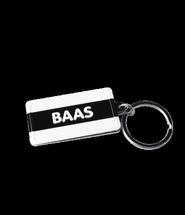 Black & White keyring - Baas