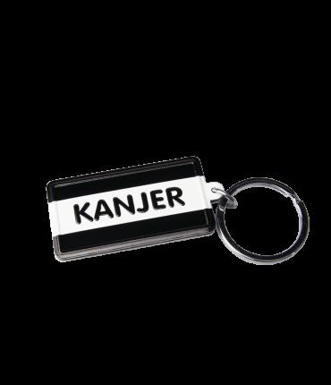 Black & White keyring - Kanjer
