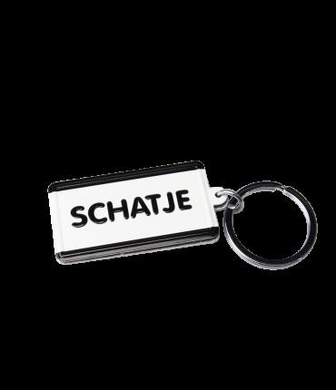 Black & White keyring - Schatje