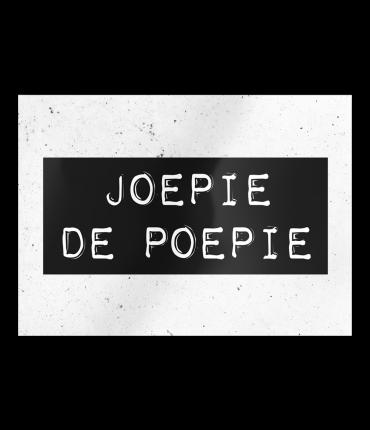 Black & White Cards - Joepie