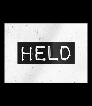 Black & White Cards - Held