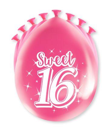 Party Ballonnen - Sweet 16 sfeer