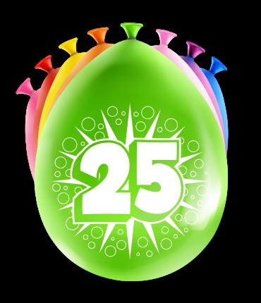 Party Ballonnen - 25 years