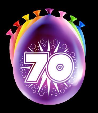Party Ballonnen - 70 years