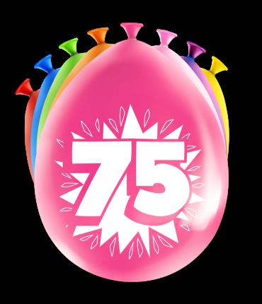 Party Ballonnen - 75 years