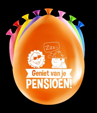 Party ballonnen - Pensioen