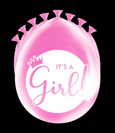Party ballonnen - It's a girl