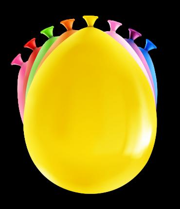 Happy party balloons - Blanco