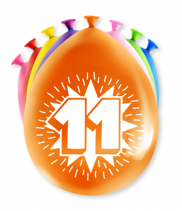 Party Ballonnen - 11 years
