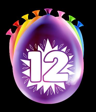 Party Ballonnen - 12 years