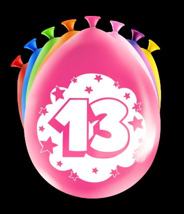 Party Ballonnen - 13 years