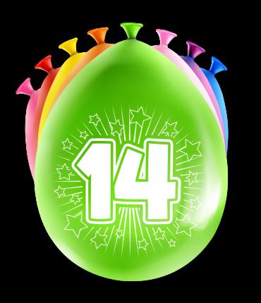 Party Ballonnen - 14 years