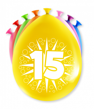 Party Ballonnen - 15 years