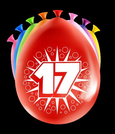 Party Ballonnen - 17 years