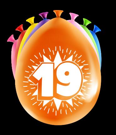 Party Ballonnen - 19 years