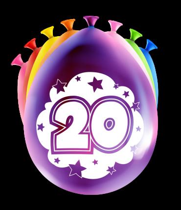 Party Ballonnen - 20 years