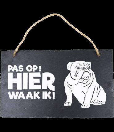 Leisteen Dieren - Engelse Bulldog