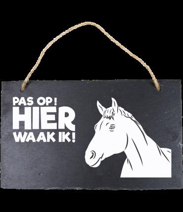 Leisteen Dieren - Paardenhoofd