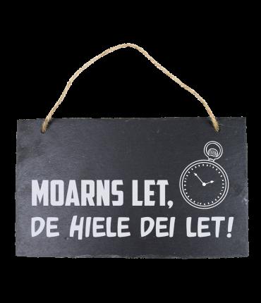 Leisteen Fries - Moarns let