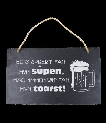 Leisteen Fries - Elk sprekt