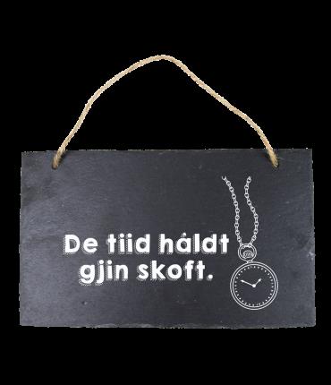 Leisteen Fries - De tiid haldt