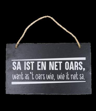 Leisteen Fries - Sa ist en net oars