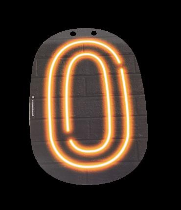 Neon letter - O