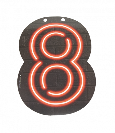 Neon letter - 8