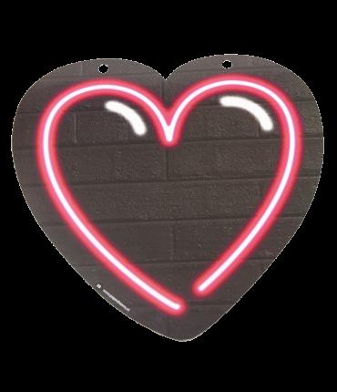 Neon letter - Hart roze