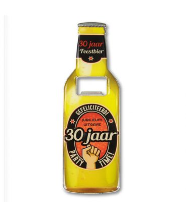 Bieropeners - 30 jaar