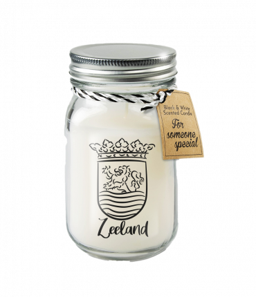 Black & White scented candles - Zeeland