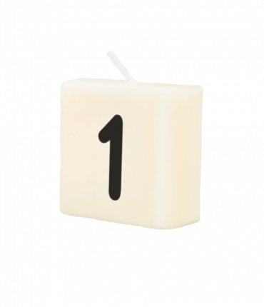 Letter Kaarsje - 1