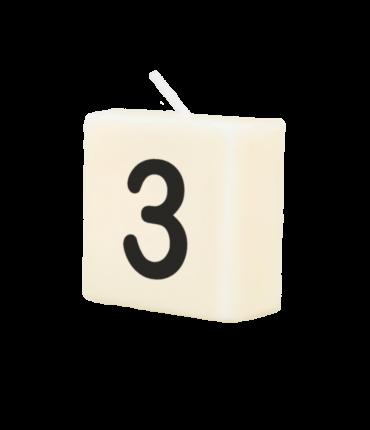 Letter Kaarsje - 3