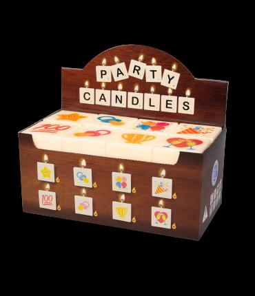 Letter Kaarsje - Partybox