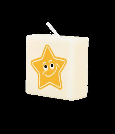 Letter Kaarsje - Star